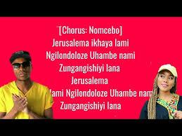 master kg jerusalem lyrics