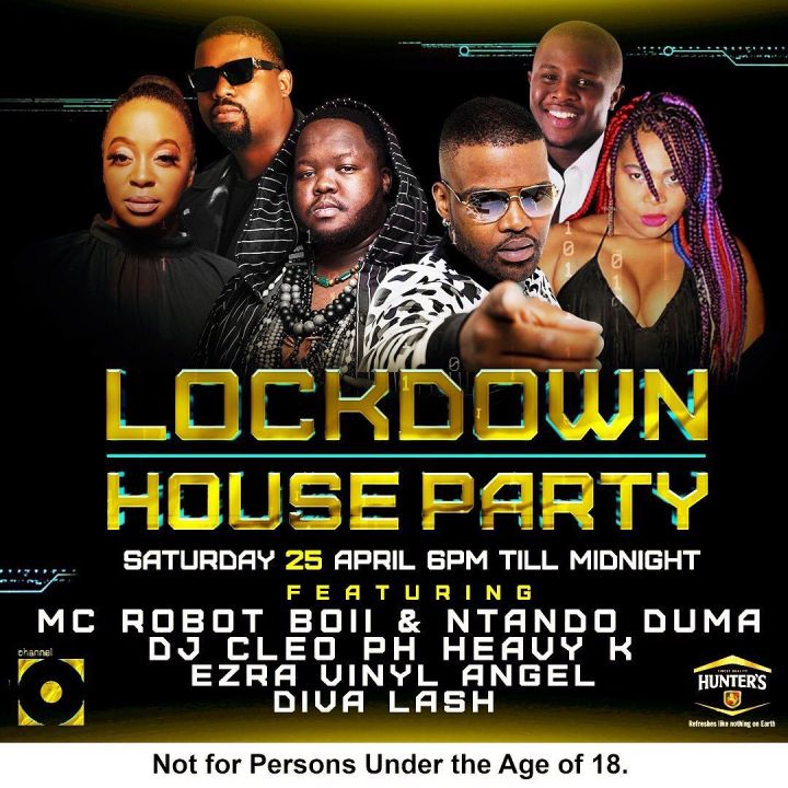 DJ Cleo, PH, Heavy K, Ezra, Vinyl Angel - Lockdown House Party Mix