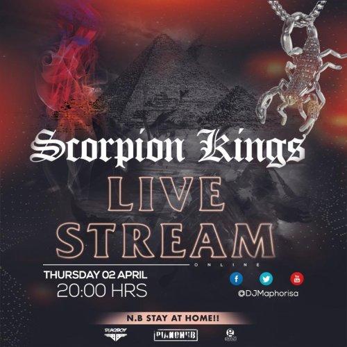 Dj Maphorisa & Kabza De Small – Scorpion Kings Live Stream 2 Mp3 Download SA Hip Hop 2020