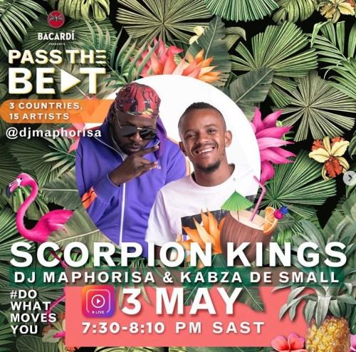 Bacardi x Scorpion Kings (Dj Maphorisa & Kabza De Small) – Amapiano Live Mix 3rd May 2020 mp3 download