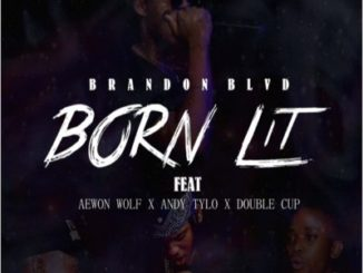 Brandon BLVD – Born Lit ft. Aewon Wolf, Andy Tylo, Double Cup Mp3 download