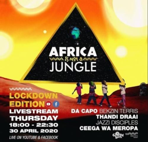 Ceega Wa Meropa – Africa Is Not A Jungle Live Mix Mp3 download