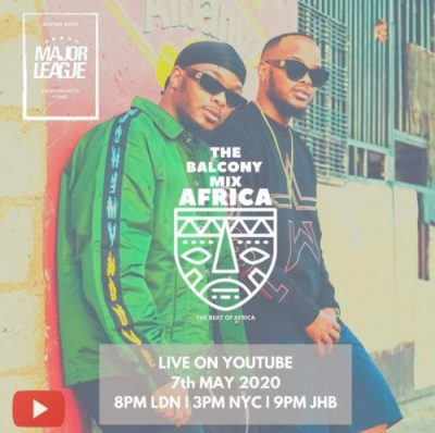 Major League – Amapiano Live Balcony Mix 14 mp3 download