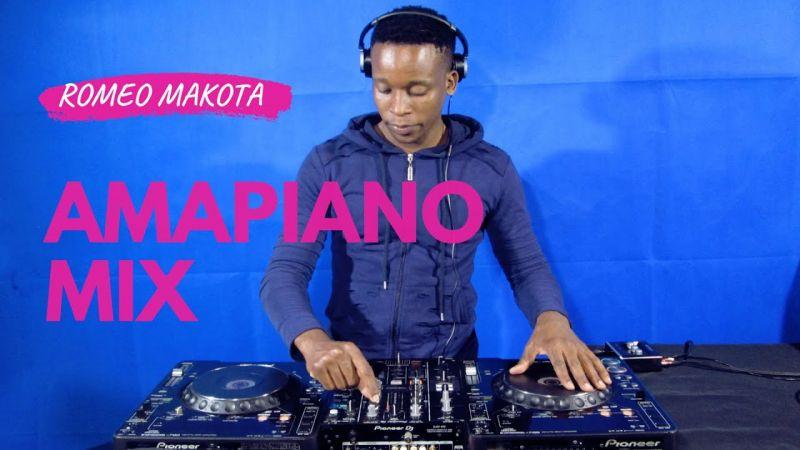 Romeo Makota - Amapiano Mix 30 May 2020 Mp3 download