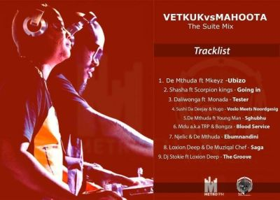 Vetkuk Vs Mahoota – The Suite Mix (Metro FM) mp3 download