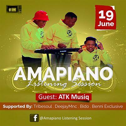 ATK Musiq – Amapiano Listening Sessions