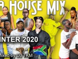 "DJ TKM – South African House Music Mix 2020 ""Winter"" Ft. Master KG, TNS, Makhadzi & Da Capo Mp3 download"