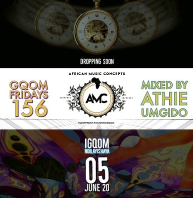 Dj Athie – Gqom Fridays Mix Vol.156 mp3 download