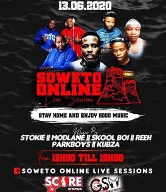Dj Stokie – Soweto Online Sessions (13-06-20)