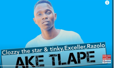 Clozzy the Star & Tinky – Ake Tlape Ft. Exceller & Razolo (Original Mix) mp3 download